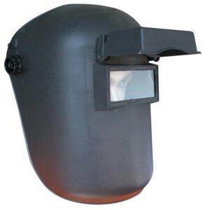 Careta soldador vidrio móvil